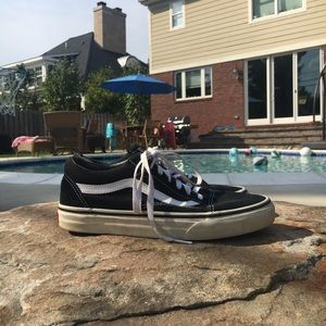 Classic Black and White Low Top Vans